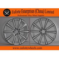 Wholesale 17 inch Elegant Styling Wheels White With Black Electrophoresis After Market Wheels from china suppliers
