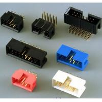 Wholesale China brand 2.54mm pitch Milli-Grid box header connectors, in shrouded and unshrouded from china suppliers