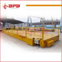 Buy cheap Industry usage busbar Powered High Frequency Rail Flat Cart for sale from wholesalers