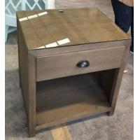 Wholesale glass top wooden night stand /bed side table,hospitality casegoods,hotel furniture NT-0083 from china suppliers