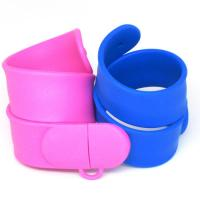 Wholesale Colorful silicone slap bracelet usb thumbdirve, wristband usb flash drive (MY-UWB04) from china suppliers