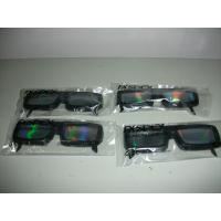 Wholesale 0.06mm PVC / PET laser lenses three d glasses / 3d fireworks glasses from china suppliers