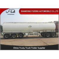 Wholesale Oil Tanker Trailer With Lifting Front Axle , Tanker Truck Trailer  Q345 Carbon Steel from china suppliers