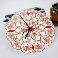 Wholesale Beautiful Flower Wall Decoration Acrylic Art Wall Clock LY-050  from china suppliers