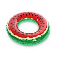 Wholesale Inflatable Watermelon Swimming Rings Inflatable Water Toy Inflatable Lounger from china suppliers