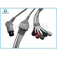 Wholesale Normal use Round 6 pin one piece type ECG Monitor Cable 3.6 meters for patient monitor from china suppliers