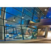 Wholesale 6.38-40.38mm Double Glazed Clear Laminated Safety Glass for Large Display Window from china suppliers