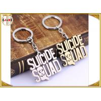 Wholesale Various Design Personalised Metal Letter Keyrings , Personalized Name Keychains For Him from china suppliers