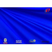 Wholesale Anti - microbial blue colour polyester spandex fabric for swimwear from china suppliers