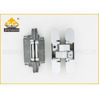 Wholesale Zinc Alloy 3D 180 Degree Adjustable Concealed Italian Hinges For Door from china suppliers
