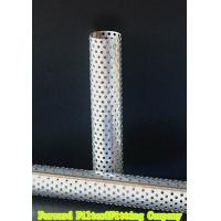Wholesale Longitudinal Welded Perforated Metal Tube Stainless Steel For Filter Core / Basket from china suppliers
