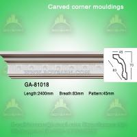 Wholesale Home decorative material Polyurethane carved panel moulding from china suppliers