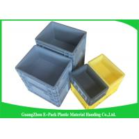 Wholesale 45 Litre Plastic Euro Stacking Containers Easy Stacking Eco - Friendly 600 * 400 * 230mm from china suppliers