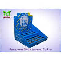 Quality Printing Logo  POP Up Countertop Cardboard Display Stand For Liquid Bottles for sale