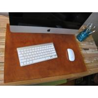 Wholesale Brown Rectangle Custom Desk Pad Computer Table Mat Waterproof from china suppliers