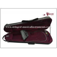 Wholesale Fibre Glass Lightweight Violin Case For Textile Edge Interior With Nice Velvet from china suppliers