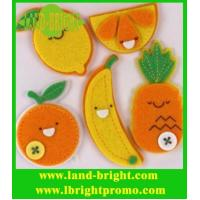 Wholesale cute fruit 3mm thickness 100% polyester felt crafts from china suppliers