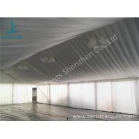 Wholesale Air Conditioning Outdoor Event Tent , Beautiful Outside Event Tents Luxury Linings from china suppliers