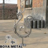 Wholesale Forged Iron Dragon Cast Steel Balustrades from china suppliers