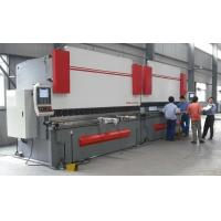 Wholesale High Accuracy Sheet Metal Hydraulic Shearing Machine CNC Press Brake with Italy CNC System from china suppliers