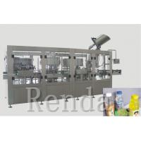 Wholesale 2500 * 2000 * 2200mm Rinsing Filling Capping 3-In-1 Water Filling Machine from china suppliers