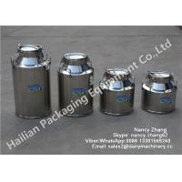 Wholesale Stainless Milk Bucket Stainless Steel Milking Bucket Heat Preservation Transport Barrels from china suppliers