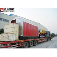 Wholesale 6 T / Hr Wood Fired Steam Boiler Coal Burning Continous Heating Output from china suppliers