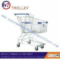 Wholesale Galvanized Coating Toy Metal Shopping Cart Unfloding Style 80L , Logo Printed from china suppliers