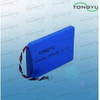 Wholesale 3.7V 900mAh Rechargeable Lithium Batteries Flat Prismatic Shape For Medical Equipment from china suppliers