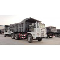 Wholesale payload 50 tons HOWO 6x4 mining dump Trucks yellow or red color overloading Capacity from china suppliers