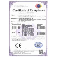 Shenzhen TBIT Technology Co., Ltd. Certifications