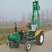 Wholesale Tractor Mounted Water Well Drilling Rig , Drill Ability Strong TDT100 100m from china suppliers