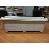 Quality white rectangular planter, plastic window boxes for sale