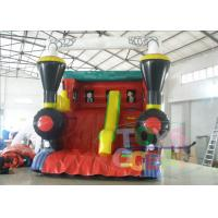 Wholesale Outside Bounce Large Inflatable Slides Red Tarpaulin For Musement Park from china suppliers