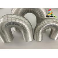 Wholesale Aeration System Semi Rigid Vent Aluminum Duct Pipe Eco - Friendly For Ventilation from china suppliers