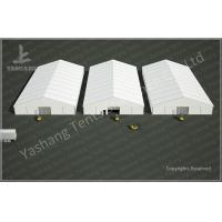 Wholesale 25x50 M Logistics Outdoor Warehouse Tents , Clear Span Fabric Buildings from china suppliers