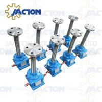 Wholesale 40 Ton Acme Screw Jack Lift Screw Diameter 80MM Lead 12MM Gear Ratio 12:1, 18:1 and 36:1 from china suppliers