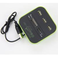 Quality COMBO USB HUB,all in 1 card reader with USB HUB for sale