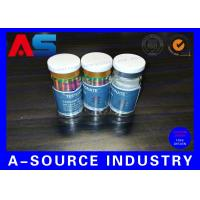 Quality 10ml Printed Labels On A Roll Holographic Prescription Vial Label 4C Full Color for sale
