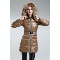 Buy cheap Moncler Nantesfur women down coats with big raccoon fur wholesale price from wholesalers
