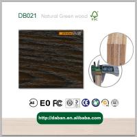Wholesale Reconstituted Decorative straight Engineered rosewood (DB021) Wood Veneer Wrapping Material from china suppliers