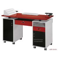Wholesale ASF-10-011 High Quality Colorful Moveable Manicure Table with Wheels from china suppliers