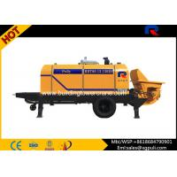 Wholesale Trailer Diesel Concrete Pump Adjust Horizontal Double Columns from china suppliers
