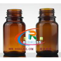 Wholesale 100g amber chemical reagent glass bottle,wide mouth from china suppliers