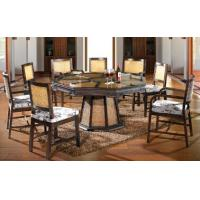 Wholesale bamboo rattan chair table set, dining set, classic chair table set, #1135 from china suppliers