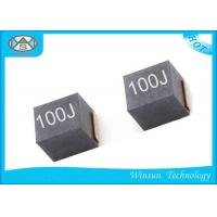 Wholesale Ferrite Shielded Power Inductor 10uH , NLV25T - 100J - PF Winding High Current Inductance from china suppliers