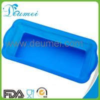 Wholesale Amazon Popular Sale Blue Color Customized Silicone Loaf Toast Bread Cake Mold/Soap Mould from china suppliers
