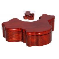 Wholesale China map shape wood box from china suppliers
