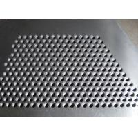 Wholesale Hot Dipped Perforated Galvanised Sheet , Perforated Steel Plate For Stair Tread from china suppliers