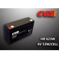 Wholesale Maintenance Free Valve Regulated Lead Acid Battery 6v 13AH , HR653W Power Supply Battery from china suppliers